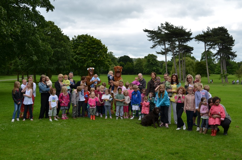 Communication Group Sponsored Walk July 2012